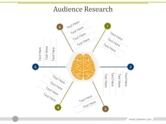 Audience Research Ppt PowerPoint Presentation Pictures Vector