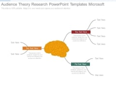 Audience Theory Research Powerpoint Templates Microsoft