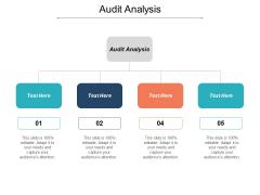 Audit Analysis Ppt PowerPoint Presentation Slides Gallery Cpb