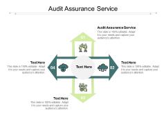 Audit Assurance Service Ppt PowerPoint Presentation Icon Slides Cpb Pdf