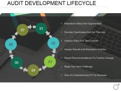 Audit Development Lifecycle Ppt PowerPoint Presentation File Portrait