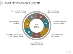 Audit Development Lifecycle Ppt PowerPoint Presentation Picture