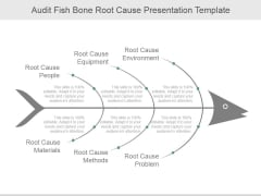 Audit Fish Bone Root Cause Ppt PowerPoint Presentation Show