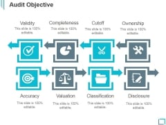Audit Objective Ppt PowerPoint Presentation Icon