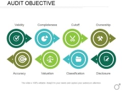 Audit Objective Ppt PowerPoint Presentation Layouts Slideshow