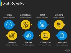 Audit Objective Ppt PowerPoint Presentation Summary Sample