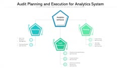 Audit Planning And Execution For Analytics System Ppt PowerPoint Presentation File Guide PDF