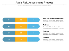 Audit Risk Assessment Process Ppt PowerPoint Presentation Professional Outline Cpb