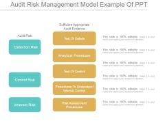 Audit Risk Management Model Ppt PowerPoint Presentation Tips