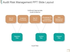 Audit Risk Management Ppt PowerPoint Presentation Slide