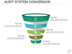Audit System Conversion Ppt PowerPoint Presentation File Demonstration