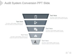 Audit System Conversion Ppt PowerPoint Presentation Slide