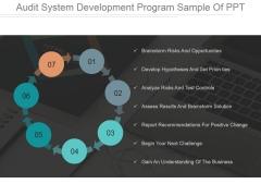 Audit System Development Program Ppt PowerPoint Presentation Designs