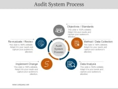 Audit System Process Ppt PowerPoint Presentation Professional