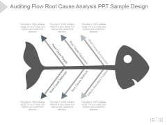 Auditing Flow Root Cause Analysis Ppt PowerPoint Presentation Files