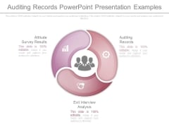 Auditing Records Powerpoint Presentation Examples