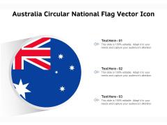 Australia Circular National Flag Vector Icon Ppt PowerPoint Presentation File Slides PDF