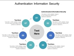 Authentication Information Security Ppt PowerPoint Presentation Ideas Guide Cpb Pdf