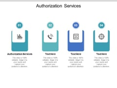 Authorization Services Ppt PowerPoint Presentation Slides Gallery Cpb Pdf