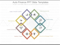 Auto Finance Ppt Slide Templates
