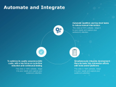 Automate And Integrate Ppt PowerPoint Presentation File Grid