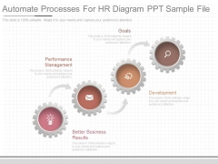 Automate Processes For Hr Diagram Ppt Sample File