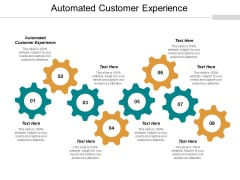 Automated Customer Experience Ppt PowerPoint Presentation Model Smartart Cpb