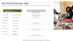 Automated Government Procedures Our Roll Out Services Team Introduction PDF