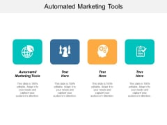 Automated Marketing Tools Ppt PowerPoint Presentation Show Gridlines Cpb