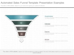Automated Sales Funnel Template Presentation Examples