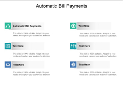 Automatic Bill Payments Ppt PowerPoint Presentation Ideas Design Templates Cpb Pdf