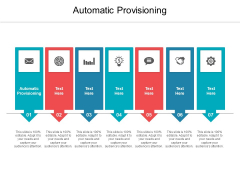 Automatic Provisioning Ppt PowerPoint Presentation Icon Smartart Cpb Pdf