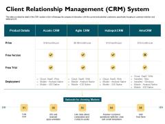 Automatically Controlling Process Client Relationship Management CRM System Portrait PDF