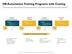 Automatically Controlling Process HR Automation Training Programs With Costing Topics PDF