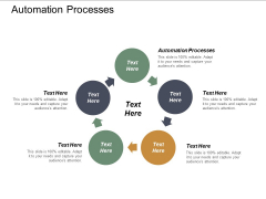 Automation Processes Ppt PowerPoint Presentation Gallery Icons Cpb