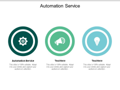 Automation Service Ppt PowerPoint Presentation Show Examples Cpb