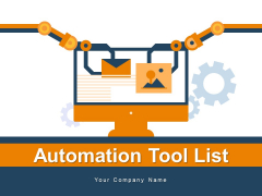 Automation Tool List Infrastructure Automation Product Ppt PowerPoint Presentation Complete Deck
