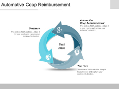 Automotive Coop Reimbursement Ppt PowerPoint Presentation Summary Professional Cpb