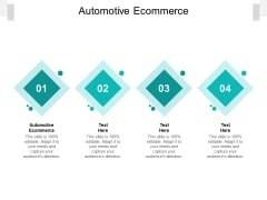 Automotive Ecommerce Ppt PowerPoint Presentation Infographics Topics Cpb Pdf
