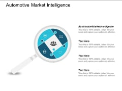 Automotive Market Intelligence Ppt Powerpoint Presentation Inspiration Slide Portrait Cpb