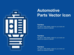 Automotive Parts Vector Icon Ppt PowerPoint Presentation Infographics Model PDF
