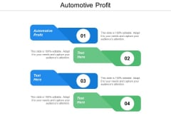 Automotive Profit Ppt Powerpoint Presentation Inspiration Cpb