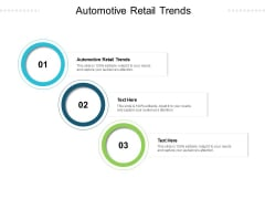 Automotive Retail Trends Ppt PowerPoint Presentation Model Backgrounds Cpb Pdf