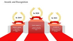 Awards And Recognition Software Development Proposal Ppt Visual Aids Inspiration PDF