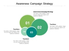 Awareness Campaign Strategy Ppt PowerPoint Presentation Outline Designs Cpb Pdf
