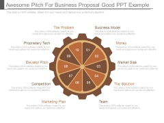 Awesome Pitch For Business Proposal Good Ppt Example