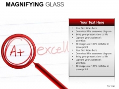 A Education Magnifying Glass PowerPoint Slides And Ppt Diagram Templates