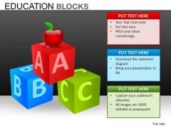 Abc Alphabets PowerPoint Templates Download