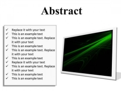 Abstract Background PowerPoint Presentation Slides F