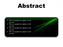 Abstract Background PowerPoint Presentation Slides R